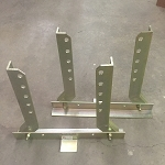 B515SP Short Wheel Stand Pair