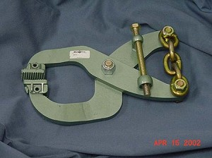 M5852 Large Jaw Tong Clamp