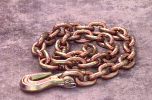 "M6004 3/8"" X 4' Frame Chain w/Grab Hook"
